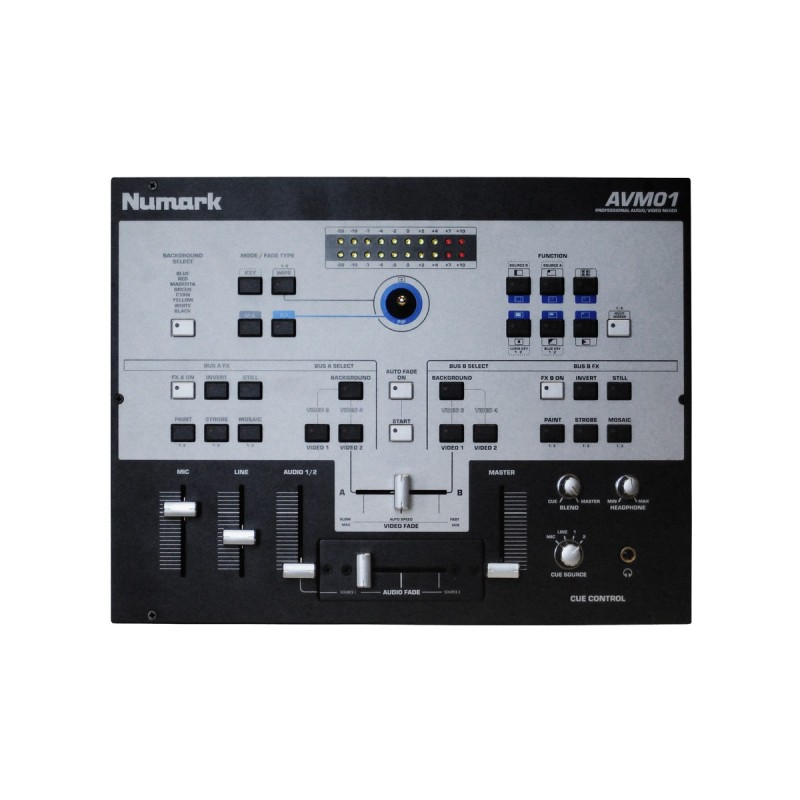 numark avm01 table de mixage video cybercom sono. Black Bedroom Furniture Sets. Home Design Ideas